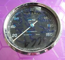 3664 - GENUINE SMITHS CHRONOMETRIC SPEEDOMETER SC1302/05 100 RPM 180KPH - RARE