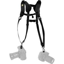 BlackRapid Double Slim Sling Carabiner Camera Shoulder Strap RSD-2BB