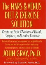 The Mars and Venus Diet and Exercise Solution Hardcover book by John Gray grey
