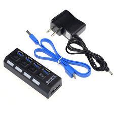 4 Porte USB 3.0 HUB Con On/Interruttore Di Spegnimento