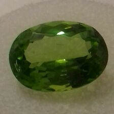 100% Natural 100% clean 6.85 crt Peridot frm Pakistan, top colour, top cutting.