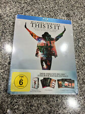 Michael Jackson This is it Ultimate Fan Pack Blu-ray Steelbook | German | NEW