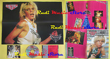 CD+POSTER WENDY O WILLIAMS Wow ARMANDO CURCIO PROMO METAL HM-19 lp mc dvd vhs