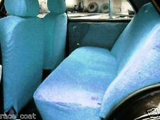 Cotton Towel Car Seat Cover Sky Blue Colour Soft & Cool for Maruti Swift