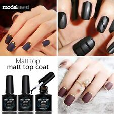 Modelones 2017 Matte Top Coat UV LED Soak Off Nail Gel Polish Manicure Art 10ml
