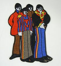 """The BEATLES Figures - Yellow Submarine - Embroidered Iron-On Patch - 3 1/2"""""""