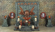 Painted Vampire / Evil Throne Room Set - Works with Dwarven Forge and DnD D&D