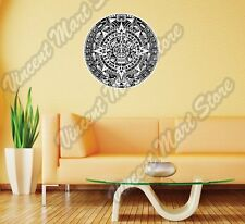 Maya Mayan Calendar Mexico Aztec Gift Idea Wall Sticker Room Interior Decor 22""