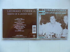 CD Album LEONARD COHEN Death of a ladies' man CD 86042