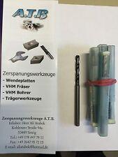 Hartmetall VHM Bohrer Spiralbohrer OSG mit IK D= 5,1 mm überlang mit Rechnung