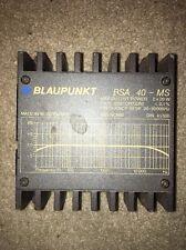 Old school Blaupunkt BSA-40ms Car stereo amplifier 40wa 20x2 Porsche BMW Ferrari