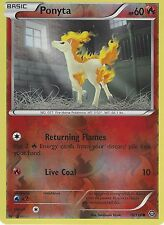 POKEMON XY STEAM SIEGE CARD - PONYTA  16/114 REVERSE HOLO