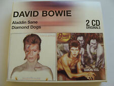 Bundle: David Bowie : 2 CD Originals Aladdin Sane & Diamond Dogs