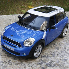 BMW Mini Cooper Model Cars 5 inches Alloy Diecast Collections & Gifts Toys Blue