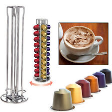 Nespresso Coffee Capsule Pod Holder Rack Tower Stand for 40pcs Capsules