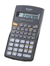 Sharp EL-501 WB-BK Scientific Calculator - 131 Functions 10 Digit Display (SAT)