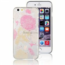 Ultra Thin Rose Flower Protective Slim Hard Shell Case Cover for iPhone 6 Plus