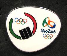 2016 RIO BRAZIL 31st Summer OLYMPIC NOC LIBYA DELEGATION TEAM pin