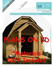 DOG HOUSE PLANS - Step By Step CAD Drawings - How To Build a Doghouse Guide - 09