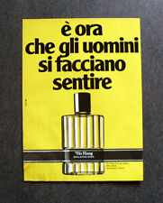 [GCG] I755 - Advertising Pubblicità -1979- HO HANG BALENCIAGA , EAU DE TOILETTE