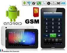"""Tablette PC TACTILE 3G 7"""" Pouces Android GPS GSM Phablet Smartphone HD 4 GO"""