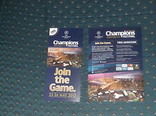 Champions League  Final Festival 2013 6 page guide and flyer