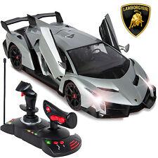 1/14 Scale RC Lamborghini Veneno Gravity Sensor Radio Remote Control Car Silver