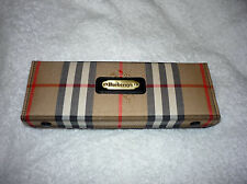 BURBERRY CRIBBAGE CASE NEW CARDS BURBERRYS OF LONDON NEW TRAVEL BLG38/14J BLACK