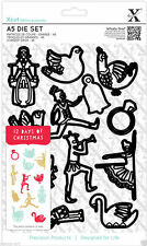 Docrafts Xcut A5 Cutting Dies Set - Christmas Icons - 12 Days of Christmas