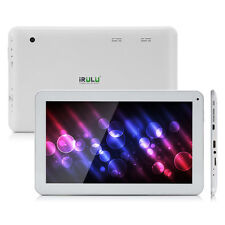 "iRULU 10.1"" Android 5.1 Lollipop 10 Inch Tablet PC 8G Quad Core GMS White B"