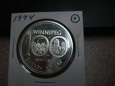 1974 - Canada Silver Dollar - Brilliant Uncirculated - Canadian $1 coin