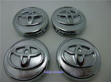 4 Pcs Chrome Plated Wheel Center Hub Rim Cap For Toyota 57mm Corolla Yaris Prius