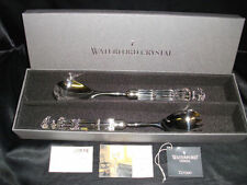 NIB~WATERFORD SALAD SERVER SET~FORK~SPOON~KNIFE~IRELAND~FLAWLESS**LAST ONE**