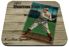 1911 boston red sox mlb baseball tris speaker mouse pad usa made
