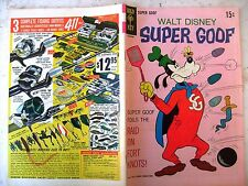 SUPER GOOF - GOLD KEY  11 DEL 1969 - OTTIMO - FUMETTO ORIGINALE AMERICANO
