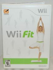 Nintendo Wii Fit Video Game ONLY Build Balance Strength & Flexibility Work Out