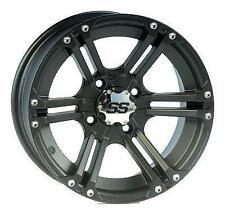 ITP SS212 Golf Cart Wheel - 12x7 - 2+5 Offset - 4/4 - Black 1228367536B 37-3676