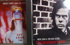 Nick Cave & The Bad Seeds- Let Love in (1994)/ Boatman´s Call 1997- 2CDs WIE NEU