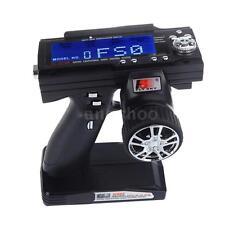 Flysky FS-GT3B 2.4G 3CH Radio Model Remote Control LCD Transmisor&Receptor RC