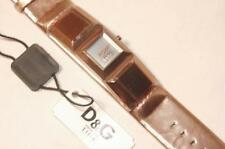 DOLCE GABBANA D&G DAMEN UHR DANCE LADY DW0271 ROSE´GOLD LEDER NEU & OVP WATCH