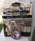 "Lowes Build & Grow Kit "" Ball Toss "" Kit W/Patch"