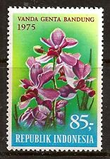 INDONESIA 1975 FLOWER ORCHID SC # 946 MNH