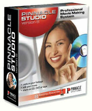 Pinnacle Studio 8-Edición de vídeo con CD y DVD editor software-Pc Windows