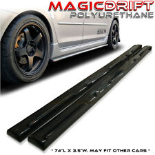 10 11 12 Mazda 3 Mazda3 4/5dr MS Speed Aero Side Sills Skirts (Urethane)