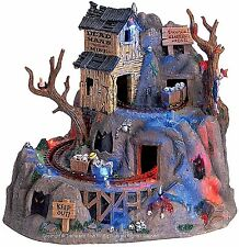 Lemax 64424 DEAD MAN'S MINE Spooky Town Halloween Decor Animated Sights Sounds I