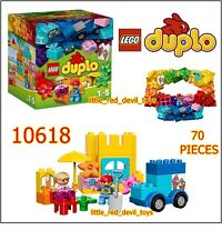 NEW LEGO DUPLO 10618 Creative Building Box  70 Pieces 2 Figures Accessories 18mt