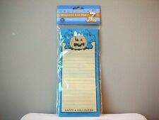 Snoopy Peanuts Halloween Note Pad Shopping List Paper