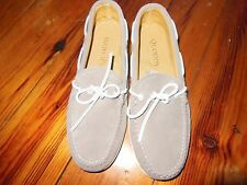 Quoddy Hand Made Men's Gray Suede Canoe Shoe, Camp Soles, size 9, D.M. N.W.