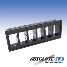 *6x Switch Holder* Housing gang rocker Carling ARB universal panel