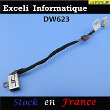 Connecteur alimentation Dc Power Jack cable wire DELL Inspiron 15-5000 5555 5558